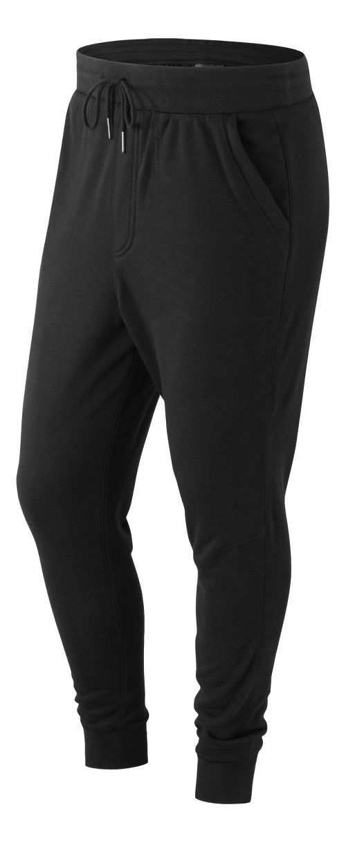 Mens New Balance Classic SweatPants - Black XL