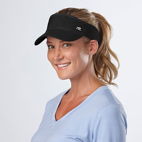Road Runner Sports Sun Scape Visor Headwear - Black
