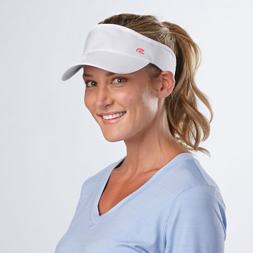 Road Runner Sports Sun Scape Visor Headwear - White
