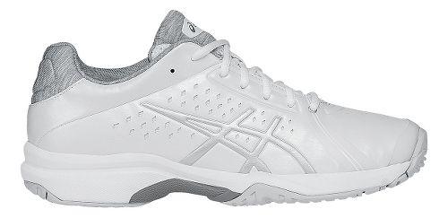 Womens ASICS GEL-Court Bella Court Shoe - White/Silver 10.5