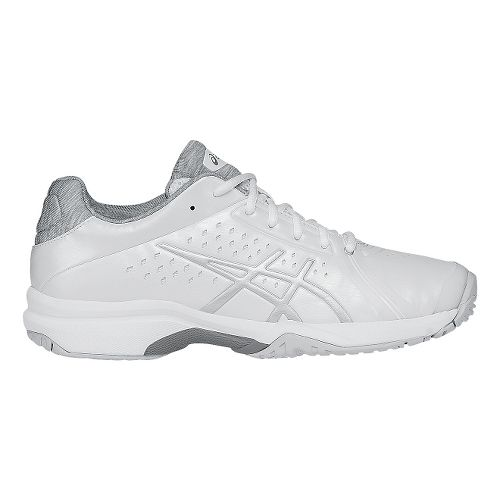 Womens ASICS GEL-Court Bella Court Shoe - White/Silver 10.5