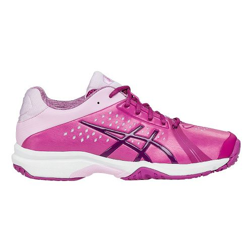 Womens ASICS GEL-Court Bella Court Shoe - Berry/Cotton Candy 11