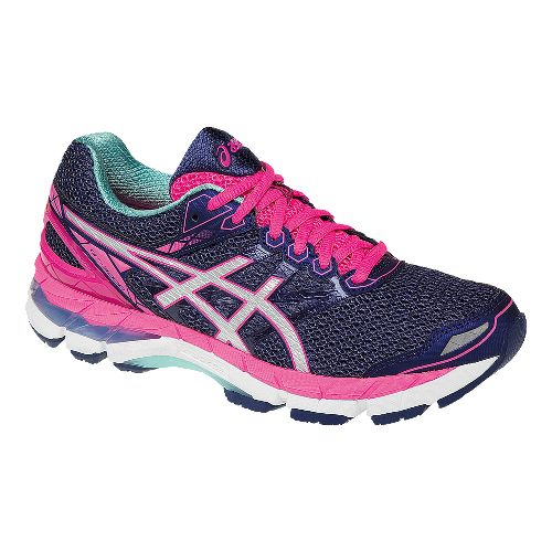 Womens ASICS GT-3000 4 Running Shoe - Midnight/Pink 11.5