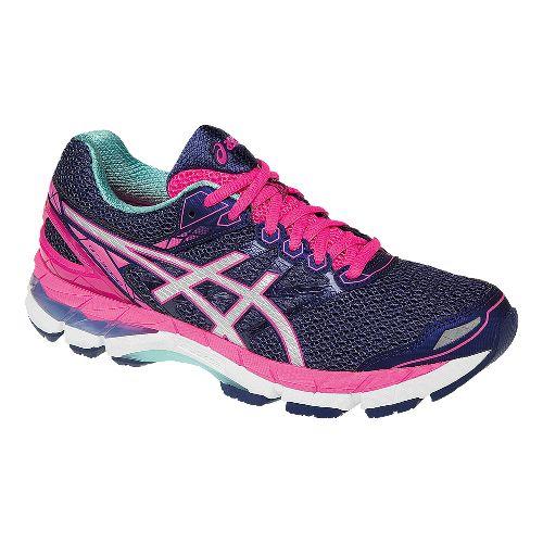 Womens ASICS GT-3000 4 Running Shoe - Midnight/Pink 5