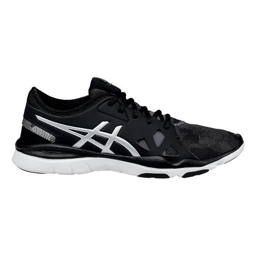 Womens ASICS Gel-Fit Nova 2 Cross Training Shoe - Black/Silver 11.5