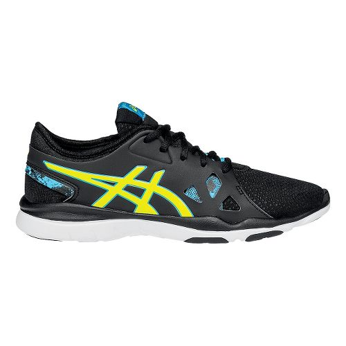 Womens ASICS Gel-Fit Nova 2 Cross Training Shoe - Black/Yellow 10