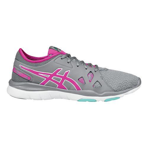 Womens ASICS Gel-Fit Nova 2 Cross Training Shoe - Grey/Pink 9.5