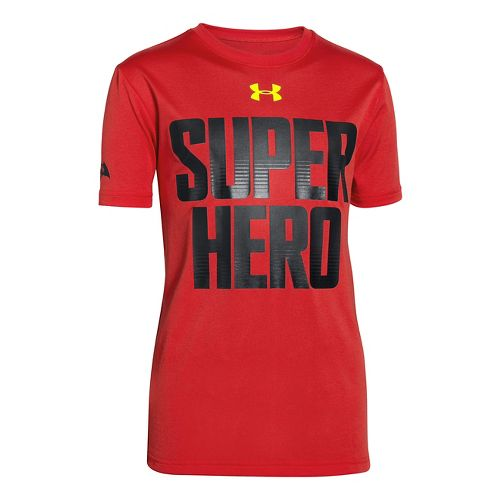 Kids Under Armour�Superman VS Batman Flip Shortsleeve T