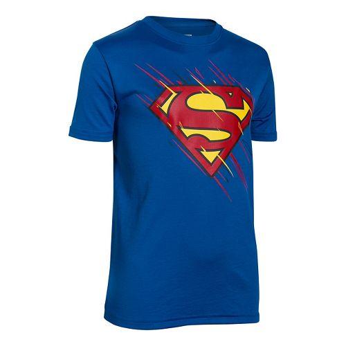 Kids Under Armour�Boys Team Superman Shortsleeve T