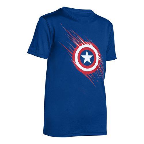 Kids Under Armour�Boys Team Captain America Shortsleeve T