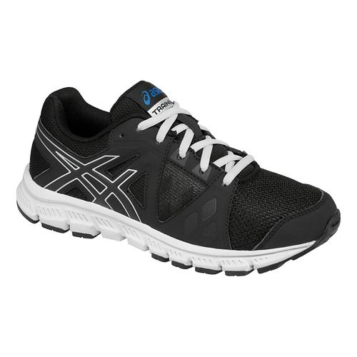 Kids ASICS GEL- Craze TR 3 Cross Training Shoe - Black/White 2Y