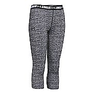 Kids Under Armour Girls Printed Armour Capris Pants
