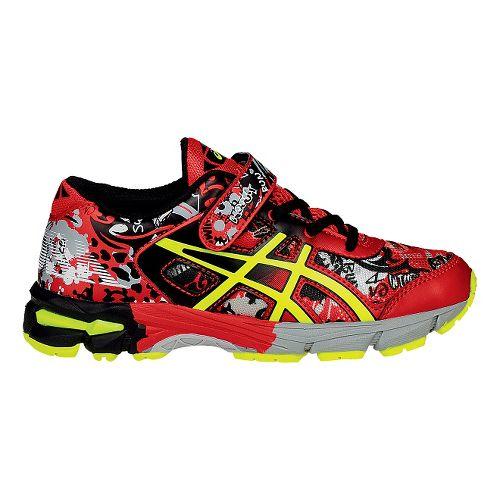 Kids ASICS GEL-Noosa Tri 11 Running Shoe - Black/Orange 13C