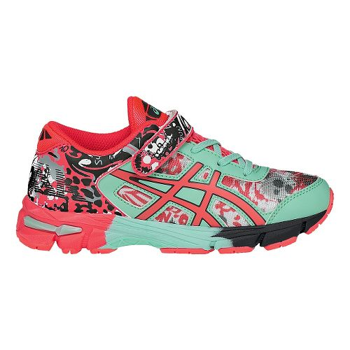Kids ASICS GEL-Noosa Tri 11 Running Shoe - Pink/Mint 10C