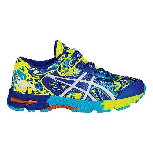 Kids ASICS GEL-Noosa Tri 11 Running Shoe - Yellow/Blue 13C