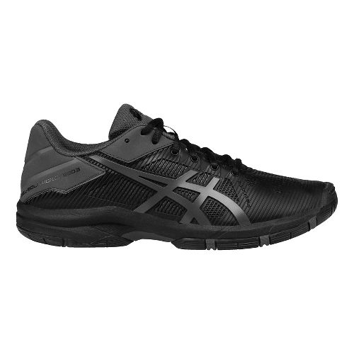 ASICS Kids GEL-Solution Speed 3 Court Shoe - Black/Dark Grey 4