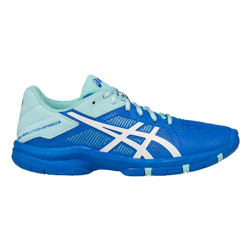 ASICS Kids GEL-Solution Speed 3 Court Shoe - Aqua/Diva Blue 5