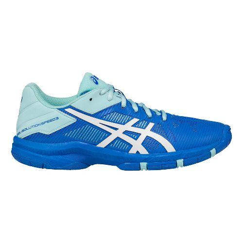 ASICS Kids GEL-Solution Speed 3 Court Shoe - Aqua/Diva Blue 5.5