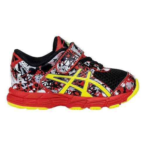 Kids ASICS Noosa Tri 11 Running Shoe - Black/Orange 4C