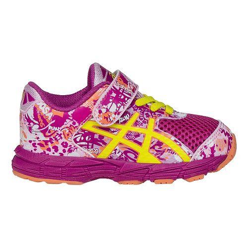 Kids ASICS Noosa Tri 11 Running Shoe - Berry/Pink 7C