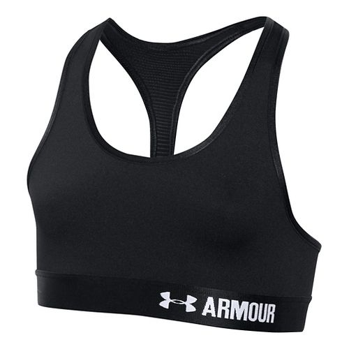 Under Armour Girls Armour Sports Bras - Black YL