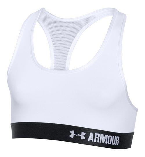 Under Armour Girls Armour Sports Bras - White YS