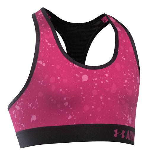 Under Armour Novelty Sports Bras - Tropic Pink/Black YS