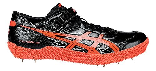 ASICS High Jump Pro (L) Track and Field Shoe - Black/Coral 12.5