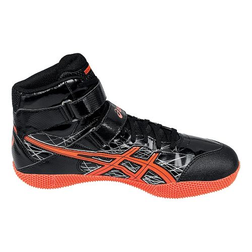 ASICS Javelin Pro Track and Field Shoe - Black/Coral 8