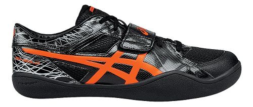 ASICS Throw Pro Track and Field Shoe - Black/Coral 8.5