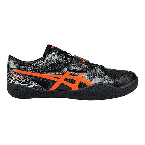 ASICS Throw Pro Track and Field Shoe - Black/Coral 5.5