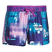 Under Armour Girls Printed Play Up Unlined Shorts