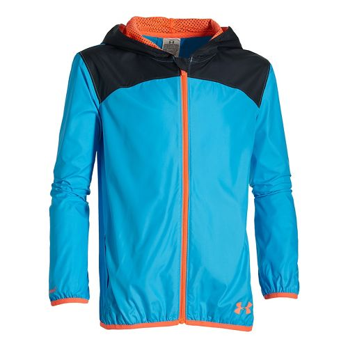 Kids Under Armour�Girls Storm Fast Lane Packable Jacket