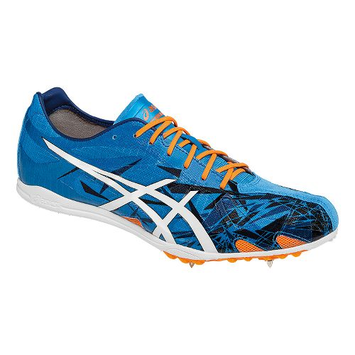 ASICS Gunlap Track and Field Shoe - Blue/Orange 8