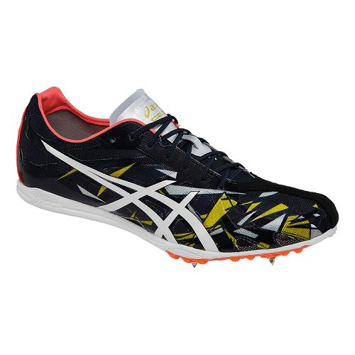 ASICS Gunlap Track and Field Shoe - Navy/Red 5.5