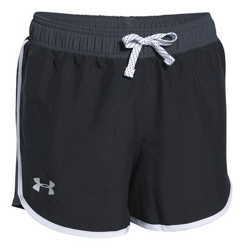 Under Armour Fast Lane Unlined Shorts - Black YM