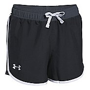 Kids Under Armour Girls Fast Lane Unlined Shorts