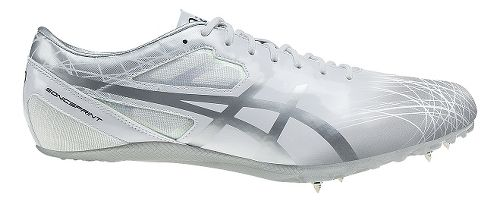 ASICS SonicSprint Track and Field Shoe - White/Silver 10.5