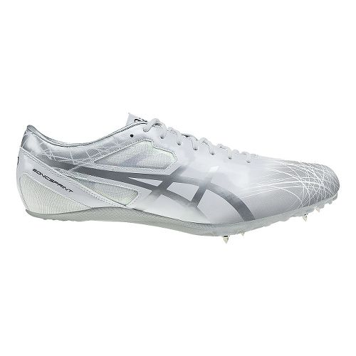 ASICS SonicSprint Track and Field Shoe - White/Silver 11.5