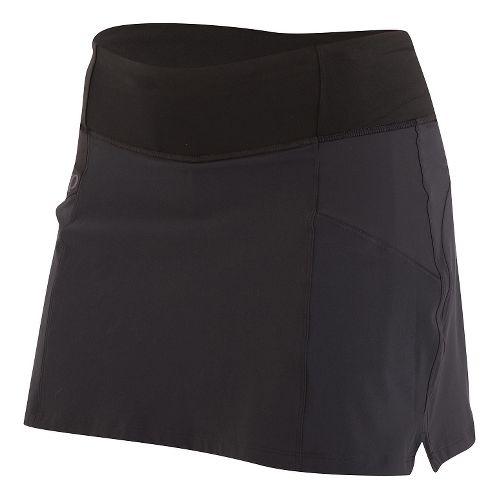 Womens Pearl Izumi Escape Skorts Fitness Skirts - Black XS