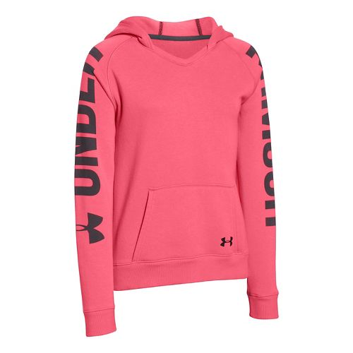 Under Armour Girls Favorite Hoodie & Sweatshirts Technical Tops - Perfection YS