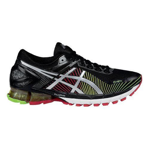 Mens ASICSGEL-Kinsei 6 Running Shoe - Black/Silver 10