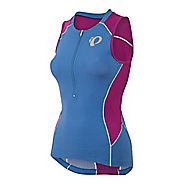 Womens Pearl Izumi ELITE Pursuit Tri Jersey Sleeveless & Tank Technical Tops