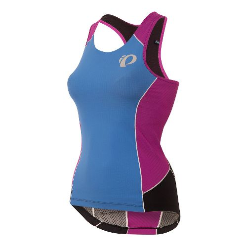 Womens Pearl Izumi ELITE Pursuit Tri Sleeveless & Tank Technical Tops - Sky Blue XL ...