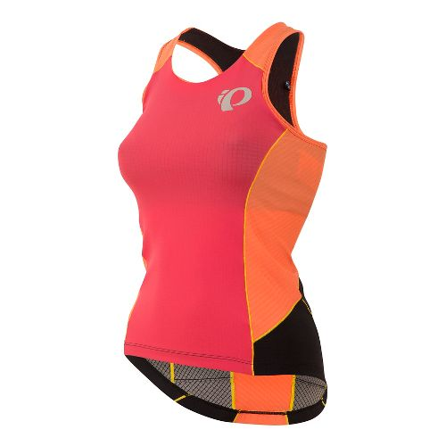 Womens Pearl Izumi ELITE Pursuit Tri Sleeveless & Tank Technical Tops - Rouge Red S ...