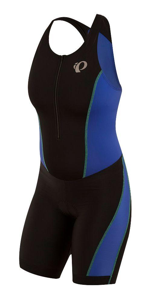 Womens Pearl Izumi SELECT Pursuit Triathlon Suits UniSuits - Black/Blue S