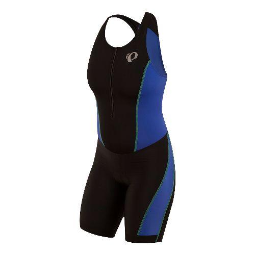 Womens Pearl Izumi SELECT Pursuit Triathlon Suits UniSuits - Black/Blue XS