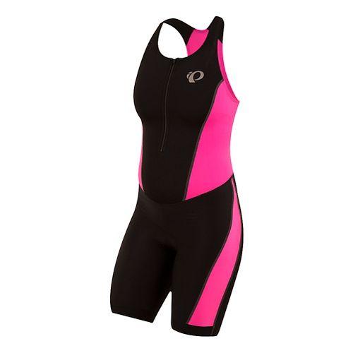 Womens Pearl Izumi SELECT Pursuit Triathlon Suits UniSuits - Black/Pink S