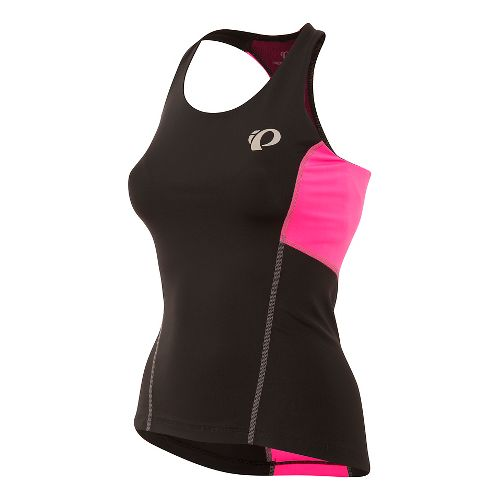 Womens Pearl Izumi SELECT Pursuit Tri Sleeveless & Tank Tops Technical Tops - Black/Pink XL