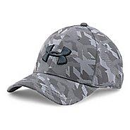 Mens Under Armour Print Blitzing Stretch Fit Cap Headwear